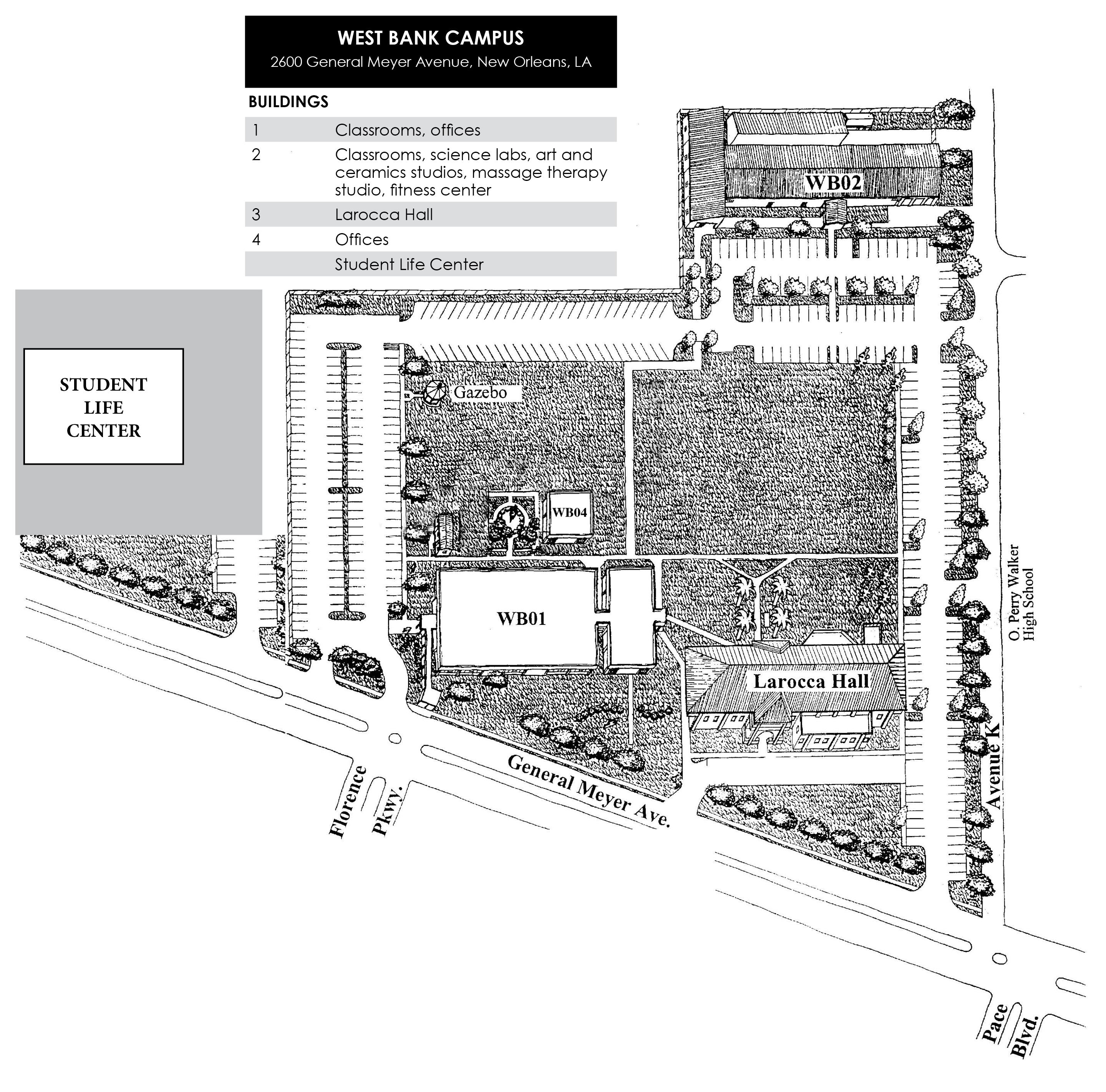Delgado City Park Campus Map Locations/Maps   Delgado Community College   Acalog ACMS™