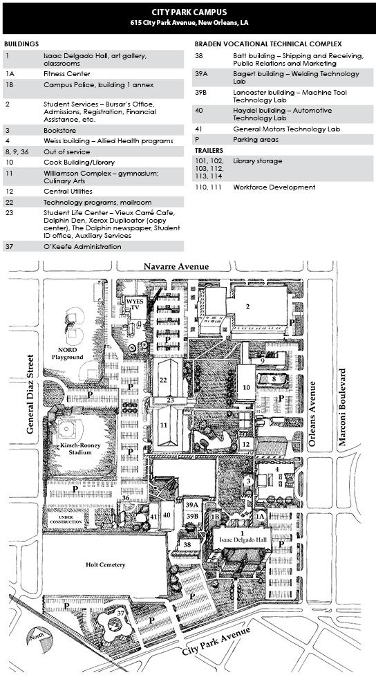 Baton Rouge Community College Campus Map.About Us Delgado Community College Acalog Acms